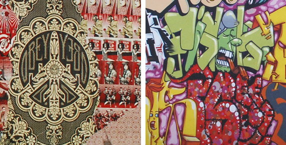 The difference between Street Art and Graffiti